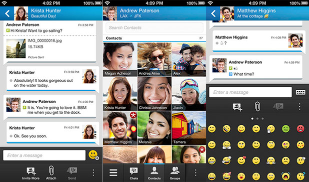 BBM adds iPad and iPod support, Android and iPhone apps get new features