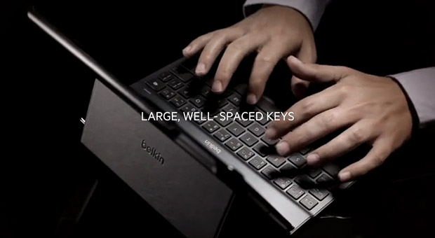Belkin brandishes iPad Air keyboard cases and accessories