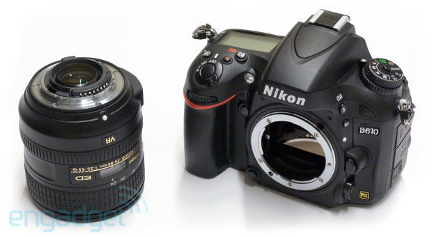Nikon's fullframe D610 DSLR is a minor step up from the D600, we go handson video