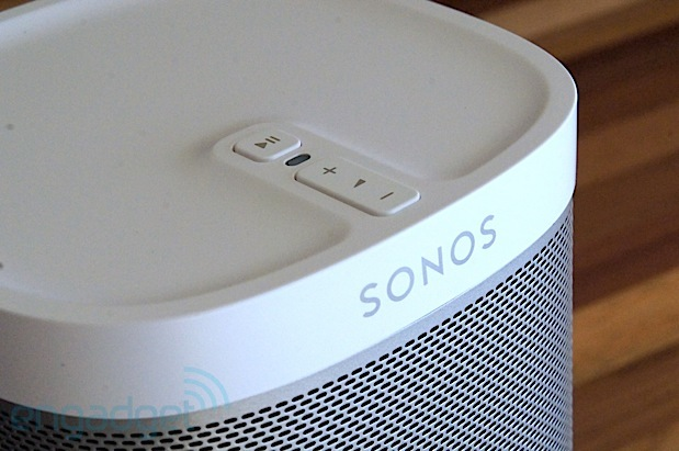 Sonos presents Play1, a pintsized wireless streaming speaker for $199