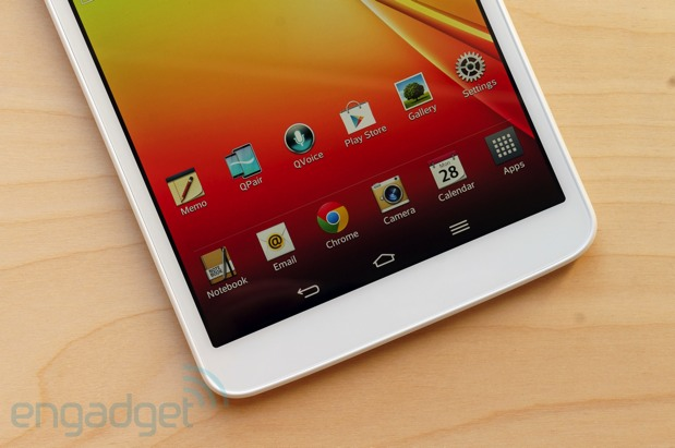 DNP LG G Pad 83 review