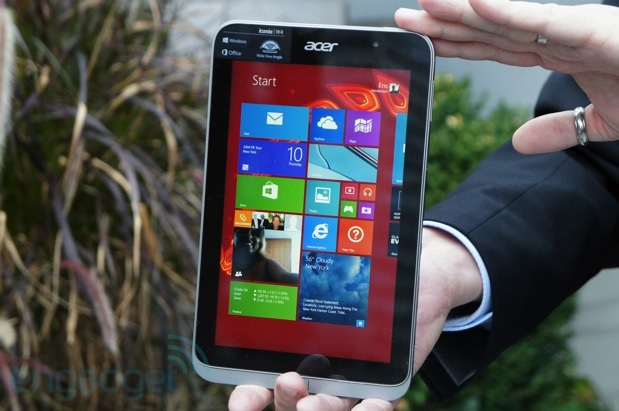 Acer intros the Iconia W4, its second 8-inch Windows 8.1 tablet: brings a sharper screen for $330 (hands-on)
