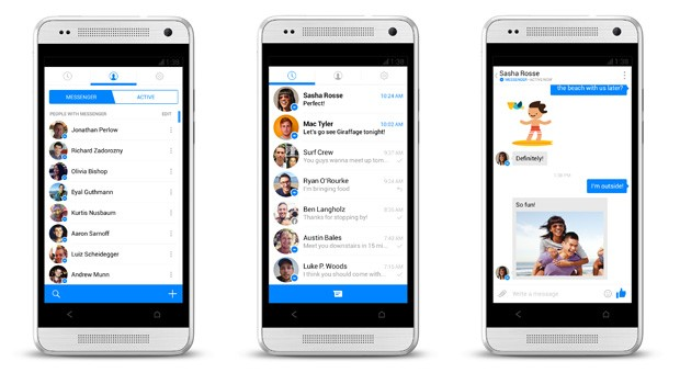 Facebook tests new version of Messenger for Android with a refreshed look, quicker access to chats
