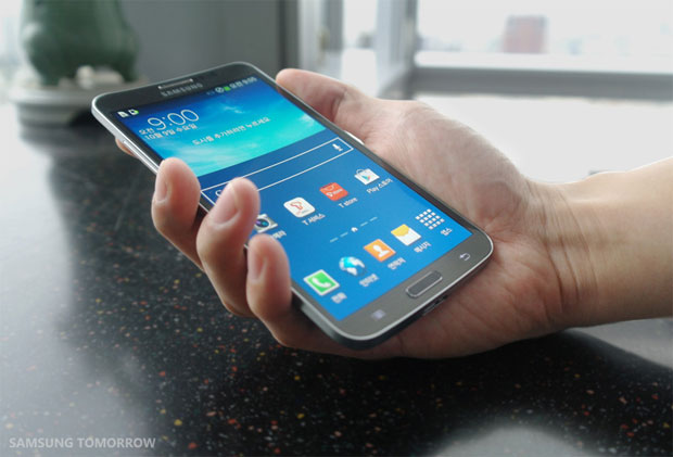 Samsung's curved smartphone is the Galaxy Round, launches ...