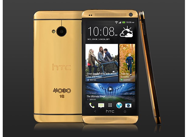HTC launches actual gold One for a mere 2,750