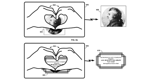 Google gesture patent would let Glass wearers 'heart' objects