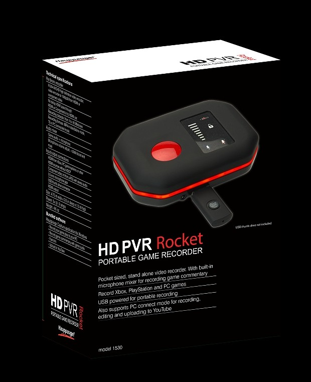 DNP Hauppauge Rocket teases gamers with portable HD PVR Rocket