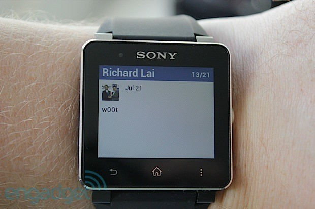 hmg7977620wm Review: Sony SmartWatch 2