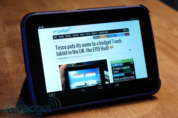 DNP Tesco Hudl review Can a supermarket chain put out a decent tablet