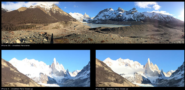 Camera showdown iPhone 5s vs iPhone 5 tested in the wilds of Patagonia
