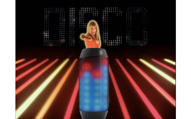 JBL's Pulse speaker lets you program an LED light show for times when your disco needs you