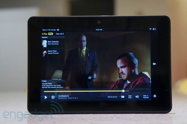 DNP Amazon Kindle Fire HDX review 7inch, WiFi