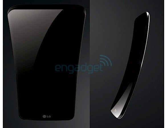 LG G Flex revealed in press renders, will launch next month