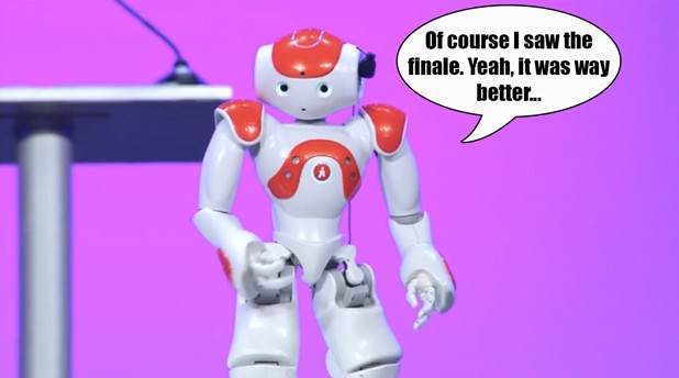 Nao robot to become even more of a chatterbox with new software (video)