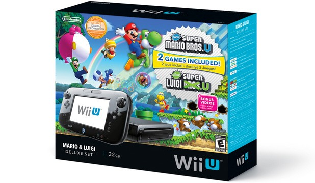 Nintendo launchign Mario & Luigi Wii U bundle on November 1st