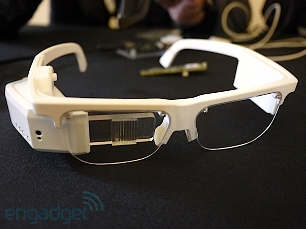 Optinvent Ora AR glasses boasts 'true AR' and dual position display, dev edition to go for 700 Euros headon