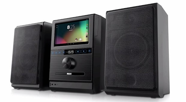 RCA's Internet Music System blends detachable Android tablet, boombox, simplicity