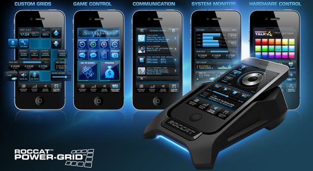 ROCCAT's PowerGrid PC augmentation application enters open beta about Android plus iOS video