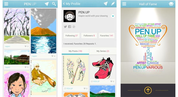 PENUP app from Samsung lets you flaunt your S Pen doodles