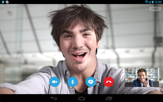 DNP Skype update for Android