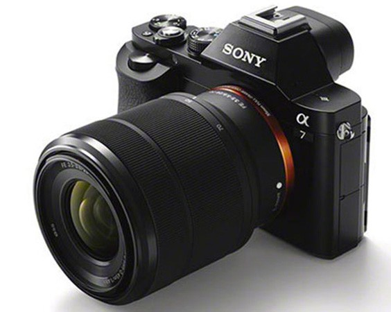 Sony's fullframe A7 mirrorless cameras pose for clearer leaked shots