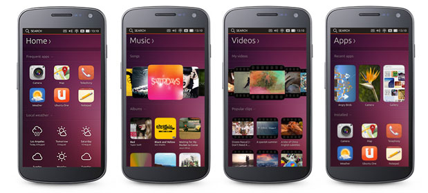 Ubuntu Touch on smartphones