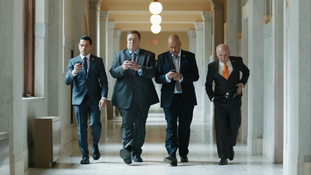 Amazon debuts first three episodes of congressional comedy, 'Alpha House'