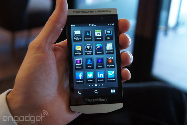 DNP BlackBerry's Porschedesigned Z10 is a phone that even it can't afford
