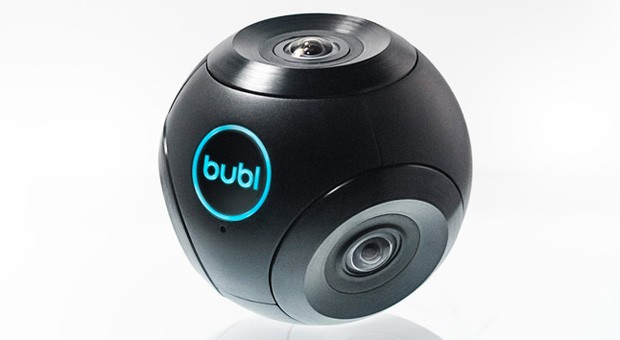 Bubl's 360-degree camera records Street View-like spherical footage (video)