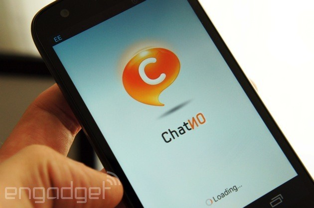 SMS support added to ChatON for Android in select countries, because please use ChatON