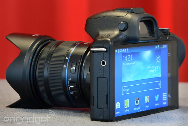 Samsung's Androidpowered Galaxy NX camera available in the US today from $1,600