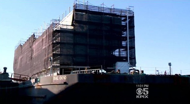 Google's mysterious San Francisco barge may host a modular showroom (video)