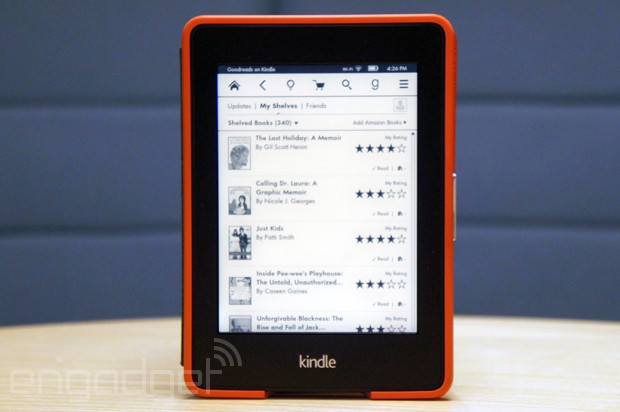 Hands-on with Goodreads for Kindle Paperwhite