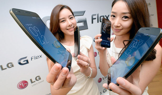 LG's G Flex available in Hong Kong, Singapore and Thailand starting December, will head west early 2014