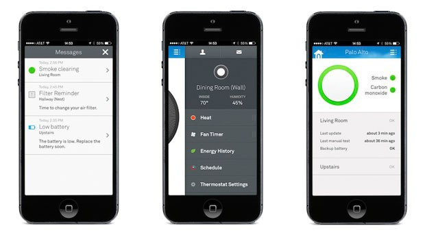 Nest's mobile app gets a full