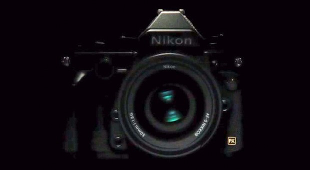 Nikon's latest teaser for its retro DSLR shows the camera, however briefly video