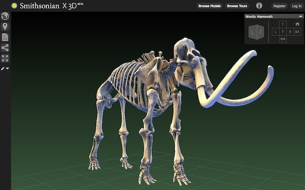 Newly Launched Smithsonian X 3d Collection Offers
