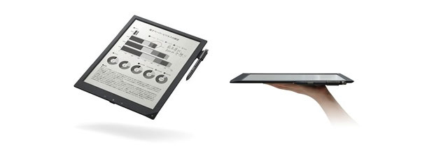 Sony's 7mmthin, A4sized digital paper gets priced at a businessoriented 100,000 yen