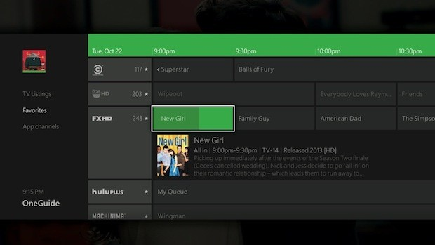 Xbox One apps
