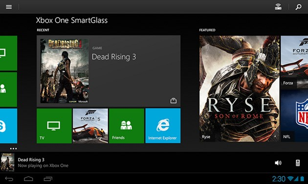 SmartGlass for Xbox One arrives on Android and iOS
