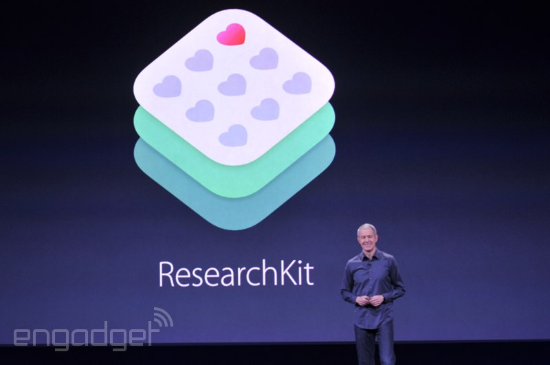 Apple představil ResearchKit