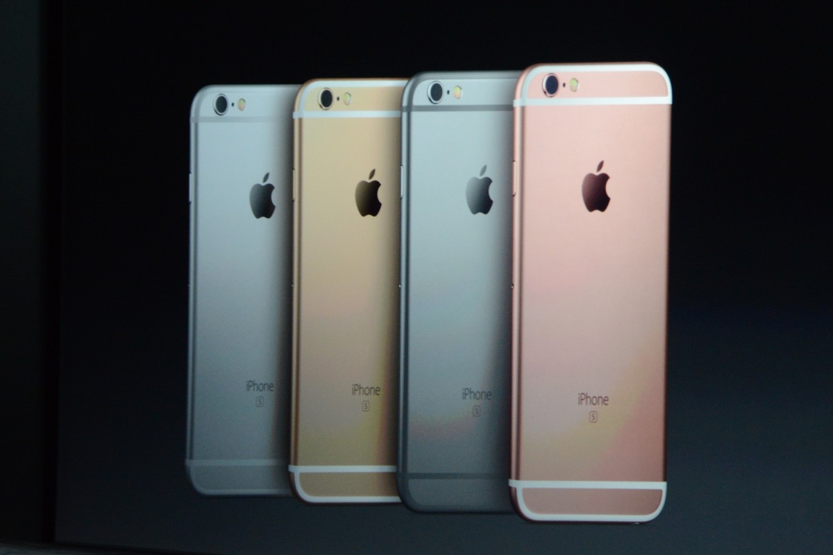 Apple představil iPhone 6s a iPhone 6s Plus!