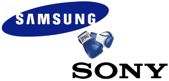 Samsung fights Sony