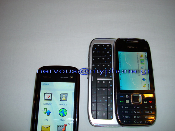 nokia e75 itw 2 Nokias QWERTY slider E75 spotted in the wild again
