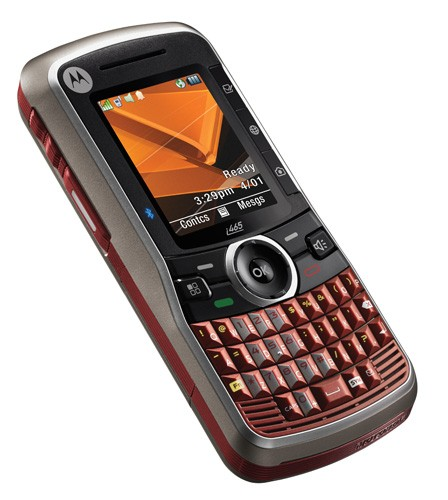 Motorola Intros I465 Clutch Companys First QWERTY IDEN Device