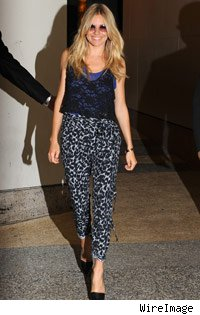 Sienna Miller en estampados de animal