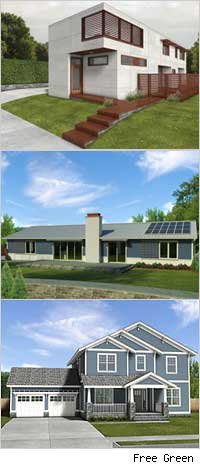 Free Green houseplans