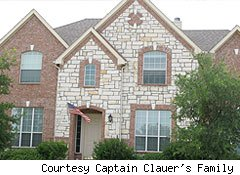 former home of Captain Clauer and his family prior to HOA selling it while he was deployed
