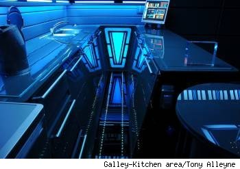 A star trek home boldy decorate where no man has gone for Sci fi home decor