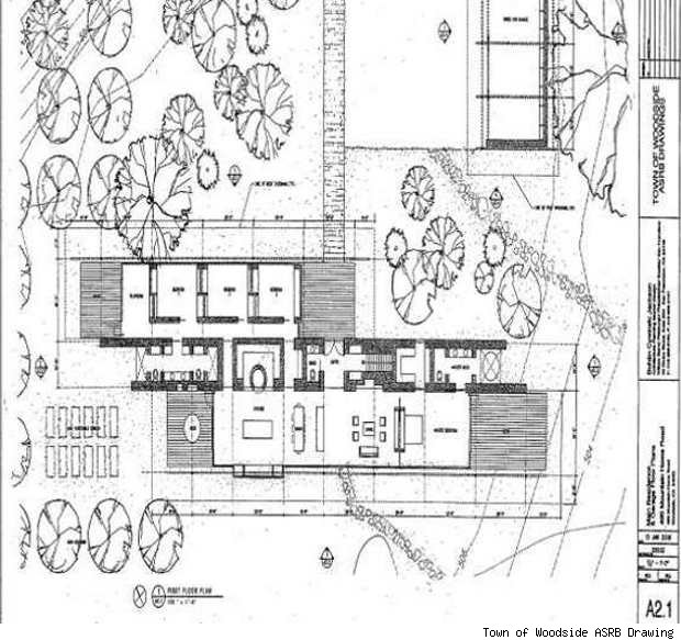 steve jobs woodside house plans home design and style